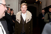 HENRY CONWAY, THE LAUNCH OF THE KRUG HAPPINESS EXHIBITION AT THE ROYAL ACADEMY, London. 12 December 2011.