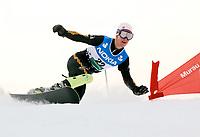 Snowboard,14. januar 2003 VM, Parallellstorslalåm: Alexander Lien, Norge<br /> Foto: Andreas Hillergren, Digitalsport