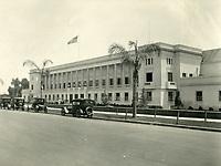 1922 Warner Bros. studios on Sunset Blvd.