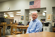 Dr. Keven M. Ellis poses for a portrait in Lufkin, Texas on March 8, 2016. Ellis is currently in a runoff with Mary Lou Bruner for the Texas State Board of Education District 9 seat. (Cooper Neill for The New York Times)