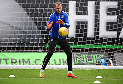 Sam Slocombe of Bristol Rovers warms up. - Mandatory by-line: Alex James/JMP - 10/02/2018 - FOOTBALL - Kassam Stadium - Oxford, England - Oxford United v Bristol Rovers - Sky Bet League One