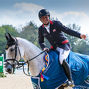 Oliver Townend (GBR) and Ballaghmor Class, winner of the CCI5*-L at Land Rover Kentucky Three-Day Event presented by MARS Equestrian held in Lexington, KY.