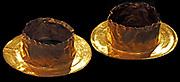 Gold hair ornaments 5th - 4th Century BC. Greek.
