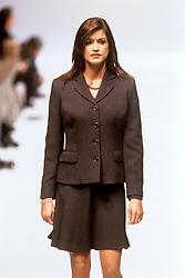 Janice Dickinson on the catwalk