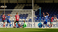 GOAL 1-0 by Ipswich Town midfielder Gwion Edwards (7) during the EFL Sky Bet League 1 match between Bristol Rovers and Ipswich Town at the Memorial Stadium, Bristol, England on 19 September 2020.
