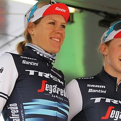 03-03-2020: Wielrennen: GP Le Samyn: vrouwen: Dour: Ellen van Dijk: Elynor Backstedt