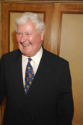 SIR CHAY BLYTH at a tribute lunch for Elaine Paige hosted by the Lady Taverners at The Dorchester, Park Lane, London on 13th November 2007.<br />