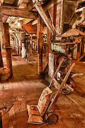 USA, Oregon, Thompson's Mills State Heritage Site, Interior Display, Digital Composite, HDR