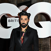 Ray Panthaki Arrivers at GQ 30th Anniversary celebration at Sushisamba, The Market, Convent Garden on 29 October 2018.