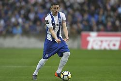April 8, 2018 - Porto, Aveiro, Portugal - Porto's Mexican midfielder Hector Herrera during the Premier League 2017/18 match between FC Porto v CD Aves, at Dragao Stadium in Porto on April 8, 2018. (Credit Image: © Dpi/NurPhoto via ZUMA Press)