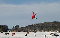 Alton Bay on Lake Winnipesaukee was abuzz with activity during Winter Carnival on Sunday.  (Karen Bobotas/for the Laconia Daily Sun)
