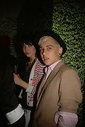 DAISY LOWE AND LOUIS BHOSE, Party to Celebrate opening of New Diesel Store on 130 Bond St.  at store and afterwards at Victoria House, Bllomsbury Sq. 18 May 2006. ONE TIME USE ONLY - DO NOT ARCHIVE  © Copyright Photograph by Dafydd Jones 66 Stockwell Park Rd. London SW9 0DA Tel 020 7733 0108 www.dafjones.com