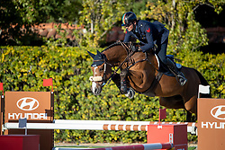 De Luca Lorenzo, ITA, Dinky Toy vd Kranenburg<br /> FEI Jumping Nations Cup Final<br /> Barcelona 2019<br /> © Hippo Foto - Dirk Caremans<br />  03/10/2019