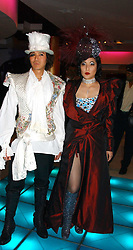 ANDY & PATTI WONG at Andy & Patti Wong's annual Chinese New year Party, this year to celebrate the Year of The Pig, held at Madame Tussauds, Marylebone Road, London on 27th January 2007.<br /><br />NON EXCLUSIVE - WORLD RIGHTS