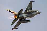Israeli Air Force (IAF) F-16A (Netz) Fighter jet in flight