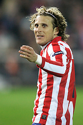 11.03.2010, Estadio Vicente Calderon, Madrid, ESP, UEFA EL, Atletico Madrid vs. Sporting Lissabon im Bild Atletico de Madrid's Diego Forlan, EXPA Pictures © 2010, PhotoCredit: EXPA/ Alterphotos/ Alvaro Hernandez / for Slovenia SPORTIDA PHOTO AGENCY
