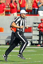 21 October 2017:   Matt Packowski during the South Dakota Coyotes at Illinois State Redbirds Football game at Hancock Stadium in Normal IL (Photo by Alan Look)