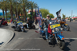 Hand In Hand Ride Benefitting Phoenix Children's Hospital during Arizona Bike Week 2014. USA. April 5, 2014.  Photography ©2014 Michael Lichter.