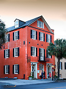 Charleston, South Carolina, 95 Broad Street, 240 year old building, 1770, Major Peter Bocquet Jr House, A Revolutionary War Patriot
