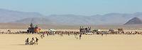 Mutant Vehicles in deep playa.
