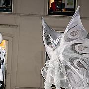 NLD/Utrecht/20130411 - Oranjes bij 300 jaar Vrede van Utrecht, kunst optreden