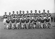 Neg No: 285/4014-4020...23081953AISFCSF.23.08.1953, 08.23.1953, 23rd August 1953..All Ireland Senior Football Championship - Semi-Final...Kerry.3-6.Louth.0-10.Kerry. ...J. Foley, J. Murphy (Captain), E. Roche, D. Murphy, C. Kennelly, J. Cronin, J. M. Palmer, Seá.Sub: G. O'Sullivan for Hannifin.J. Murphy (Captain). ........Hurling