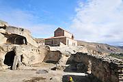 Georgia, Uplistsikhe, an ancient rock-hewn town in eastern Georgia, The Church