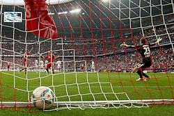 24.09.2011, Allianz Arena, Muenchen, GER, 1.FBL,  FC Bayern vs Bayer 04 Leverkusen, im Bild Jubel nach dem Tor zum 2-0 durch Daniel van Buyten (Bayern #5)  // during the  FC Bayern vs Bayer 04 Leverkusen, on 2011/09/24, Allianz Arena, Munich, Germany, EXPA Pictures © 2011, PhotoCredit: EXPA/ nph/  Straubmeier       ****** out of GER / CRO  / BEL ******