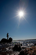 Porto Alegre_RS, Brasil...Pescador no Rio Guaiba em Porto Alegre, Rio Grande do Sul...The fisherman in the Guaiba river in Porto Alegre, Rio Grande do Sul...Foto: MARCUS DESIMONI / NITRO