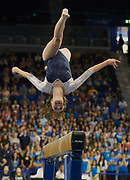 UCLA Athletics - UCLA  Gymnastics versus University Utah, Pauley Pavilion, UCLA, Los Angeles, CA.<br /> February 6th, 2016<br /> Copyright ASUCLA<br /> 160206_GYM_0345.NEF