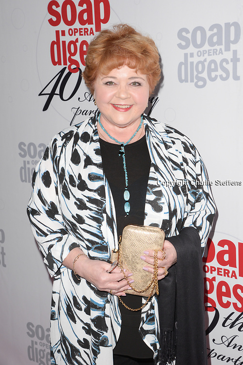 PATRIKA DARBO attends Soap Opera Digest's 40th Anniversary party on February 24, 2016 at The Argyle Hollywood in Hollywood, California.