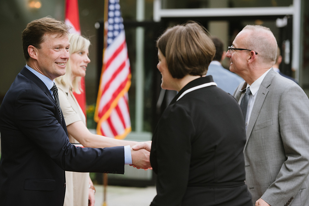 Constitution Day at the Danish Embassy.