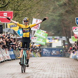 2020-02-08 Cycling: dvv verzekeringen trofee: Lille: Wout van Aert wins on his home soil