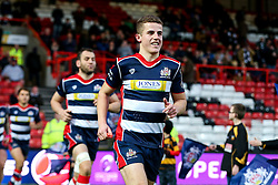 Billy Searle of Bristol Rugby runs out for the second half - Rogan Thomson/JMP - 11/12/2016 - RUGBY UNION - Ashton Gate Stadium - Bristol, England - Bristol Rugby v Pau - European Rugby Challenge Cup.