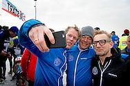 BIDDINGHUIZEN - prins bernard tijdens de tweede editie van De Hollandse 100 op FlevOnice, een sportief evenement van fonds Lymph en Co ter ondersteuning van onderzoek naar lymfeklierkanker.  COPYRIGHT ROBIN UTRECHT <br /> BIDDINGHUIZEN -  During the second edition of the Dutch 100 on FlevOnice, a sporting event fund Lymph and Co. to support research into lymphoma. COPYRIGHT ROBIN UTRECHT