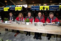 Keuringscommissie springen, Meurrens Inge, Van Tricht Tim, De Smet Stefaan, Van den Broeck Herman<br /> BWP Hengstenkeuring -  Lier 2020<br /> © Hippo Foto - Dirk Caremans<br />  17/01/2020