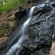 Desoto Falls Located in North Georgia Mountains.