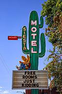 Neon sign, Siesta Motel, Durango, Colorado