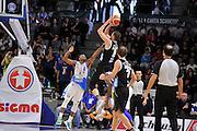 DESCRIZIONE : Campionato 2015/16 Serie A Beko Dinamo Banco di Sardegna Sassari - Dolomiti Energia Trento<br /> GIOCATORE : Filippo Baldi Rossi<br /> CATEGORIA : Tiro Controcampo<br /> SQUADRA : Dolomiti Energia Trento<br /> EVENTO : LegaBasket Serie A Beko 2015/2016<br /> GARA : Dinamo Banco di Sardegna Sassari - Dolomiti Energia Trento<br /> DATA : 06/12/2015<br /> SPORT : Pallacanestro <br /> AUTORE : Agenzia Ciamillo-Castoria/C.Atzori