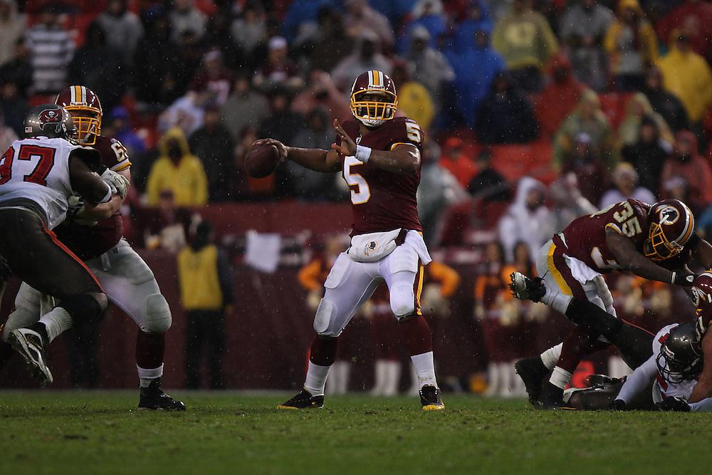 Landover, Md., Dec. 12, 2010 - Redskins vs. Buccaneers  -  (Photo by Jay Westcott/TBD)