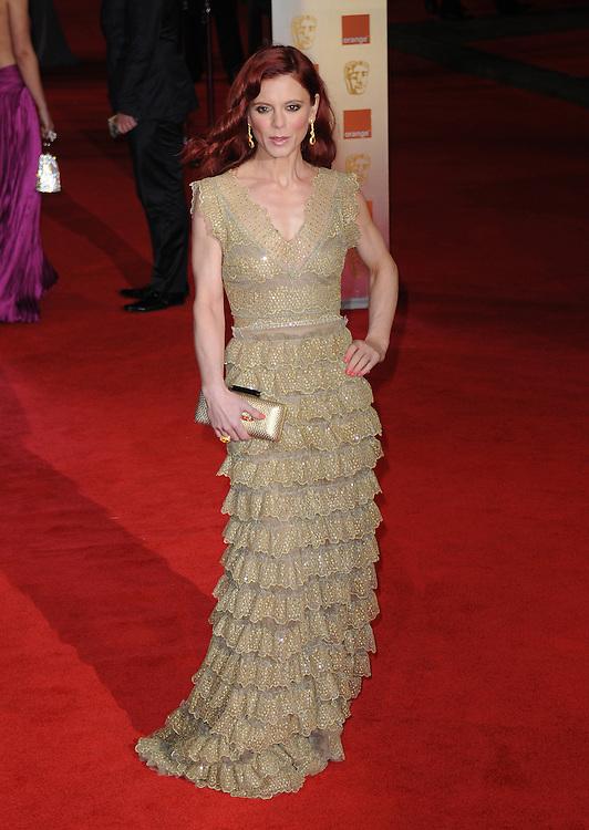 Emilia Fox attends the Orange British Academy Film Awards 2012 at the Royal Opera House, London, UK.. 12/02/2012 Anne-Marie Michel/CatchlightMedia