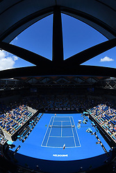 January 21, 2017 - Melbourne, AUSTRALIA - Margaret Court arena (Credit Image: © Panoramic via ZUMA Press)