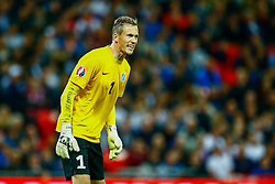 Mihkel Aksalu of Estonia - Mandatory byline: Jason Brown/JMP - 07966 386802 - 09/10/2015- FOOTBALL - Wembley Stadium - London, England - England v Estonia - Euro 2016 Qualifying - Group E