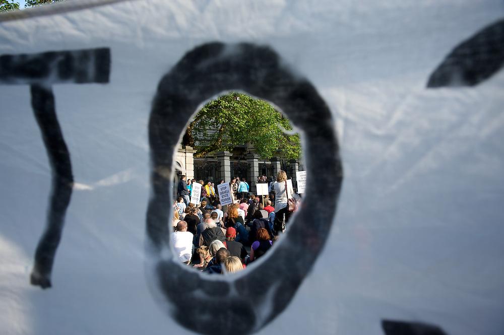 Demonstration against Israel's raid on the Gaza aid flotilla.