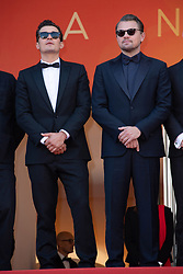 Orlando Bloom and Leonardo di Caprio attending the Il Traditore Premiere as part of the 72nd Cannes International Film Festival in Cannes, France on May 23, 2019. Photo by Aurore Marechal/ABACAPRESS.COM