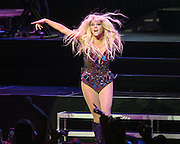 """VIENNA, VA - August 12th, 2013 - Ke$ha performs at the The Filene Center at Wolf Trap in Vienna, VA as part of her Warrior Tour. Her 2012 album of the same name reached #6 on the US Billboard 200 album chart and spawned the #1 single """"Die Young."""" (Photo by Kyle Gustafson / For The Washington Post)"""