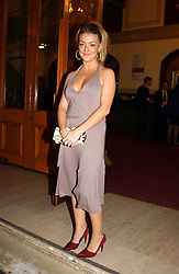 Actress SHERIDAN SMITH at the return of Dralion to celebrate the Cirque Du Soleil's 20th Anniversary at the Royal Albert Hall, London on 6th January 2005.<br /><br />NON EXCLUSIVE - WORLD RIGHTS