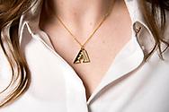 PHOENIX, AZ - JANUARY 31: Mother's Day necklace. (Photo by Sarah Sachs/Arizona Diamondbacks)