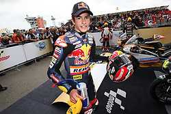 17.07.2010, Sachsenring, GER, MotoGP, Deutschland Grand Prix 2010, im Bild Marc Marquez - Red bull Derbi team. EXPA Pictures © 2010, PhotoCredit: EXPA/ InsideFoto/ Semedia +++ ATTENTION - FOR AUSTRIA AND SLOVENIA CLIENT ONLY +++ / SPORTIDA PHOTO AGENCY