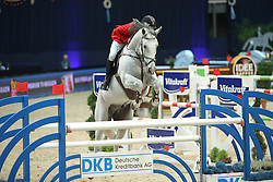 Toth Laszlo, (HUN), Isti<br /> Champion von München<br />  Jumping München 2015<br /> © Hippo Foto - Stefan Lafrentz